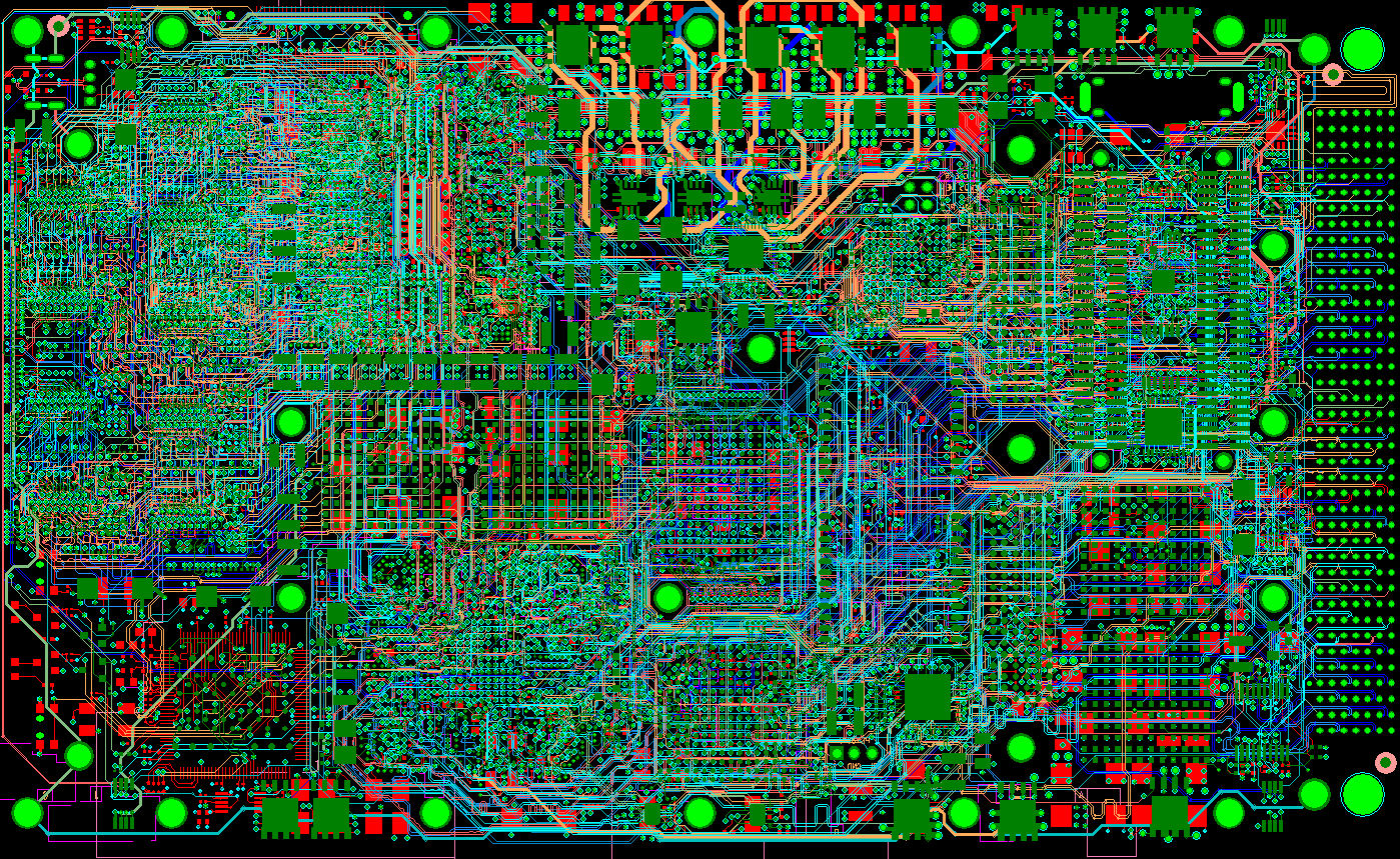 Alpha Pcb Design The Expense And Complexity Of Creating A Custom Printed Circuit Board Designs 6 Gbps High Speed With Blind Vias Via In