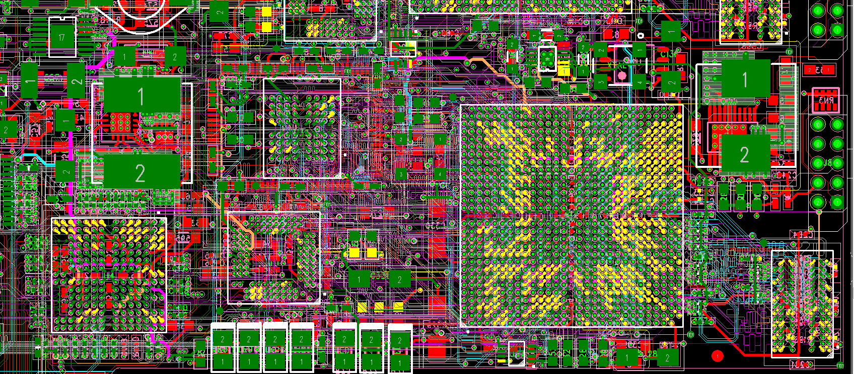 Alpha Pcb Design Gallery Best Of Free Software High Speed Pads